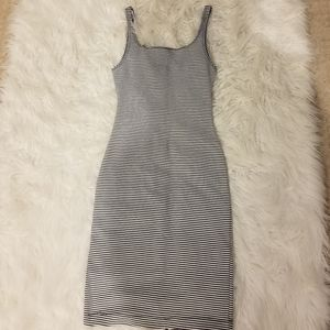 Stripped Bodycon Dress